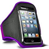ONX3 Purple Sports Waterproof Mobile Phone Cover Compatible