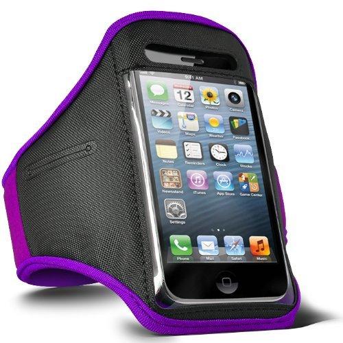 ONX3 púrpura deportes impermeable cubierta del teléfono móvil compatible con Elephone A5