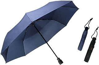 XLSM Outdoor Hiking Portable Umbrella Anti-Storm Umbrella Ultra-Light Folding Umbrella Anti-UV Umbrellas Available in Three Colors Umbrella (Color : Blue)