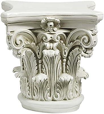 Design Toscano Le pilier corinthien, chapiteau