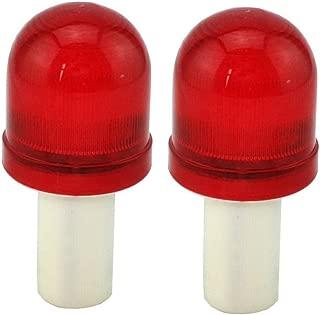 Mocase LED Road Cone Warning Light Traffic Roadblock Lamp, Set of 2