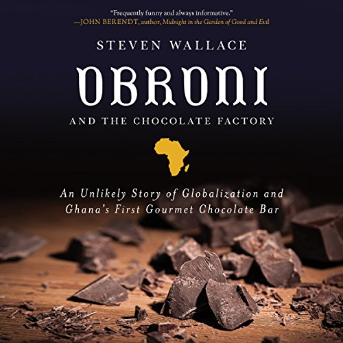 Obroni and the Chocolate Factory audiobook cover art
