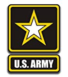 CMI NI881 US Army Logo Decal Sticker | 5.5-Inches by 4-Inches | Premium Quality Vinyl Decal