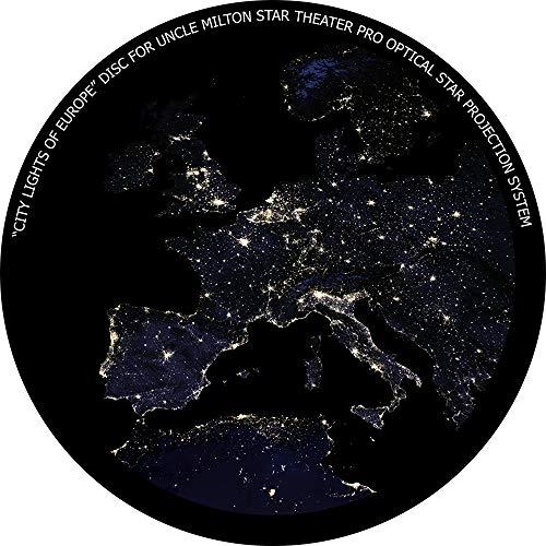 City Lights of Europe - disc for Uncle Milton Star Theater Pro/Nashika NA-300 Planetarium