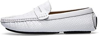 [Tiandao] ビジネスシューズ メンズ 靴 ドライビングシューズ 紳士靴 カジュアル モカシン 防滑 軽量 男性用