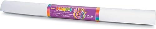 Darice Foamies Big Rolle 2  Dick 91,4 152,4  Sortiert Farben  1022-71-Weiß