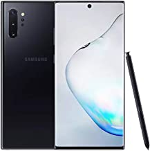 Samsung Galaxy Note 10+ Plus (5G) Single-SIM SM-N976B 256GB Factory Unlocked 5G Smartphone - International Version (Aura B...