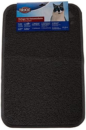 Trixie 40382 Vorleger für Katzentoiletten, PVC, 40 × 60 cm, anthrazit