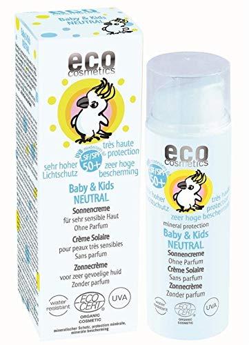 eco cosmetics: Baby & Kids Neutral Sonnencreme LSF 50 (50 ml)