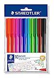 STAEDTLER 43235MPB10 - Bolígrafos, Colores Surtido, Pack de 10 Unidades