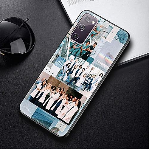 DEARLOYEA Samsung Galaxy A40 Hülle Black Soft Silicone Phone Hülle Am Erica N Tv Gr Eys A N Atomy Doctor P_0021