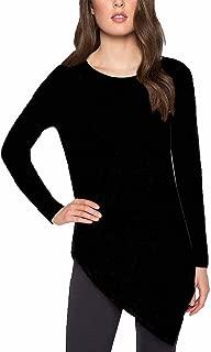 Ladies' Asymmetrical Sweater Black, Medium