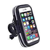 DFV mobile - Professional Reflective Support for Bicycle Handlebar and Rotatable Waterproof Motorcycle 360 for INFINIX Zero 6 Pro (2019) - Black