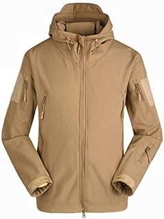 Men's Winter Warm Fleece Lined Hooded Sweatshirt Cotton Coats Soft Jackets Sweatshirts Hooded Outwear