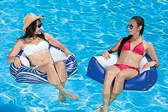 Poolmaster Catalina Water Chair Swimming Pool Float, 2 Pack