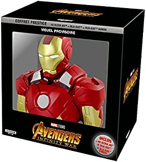 Avengers Infinity War - coffret exclusif Amazon 4K + tirelire Iron Man