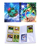 Porta Carte Pokemon, Raccoglitore Carte Pokémon, Album per Carte Pokemon GX, può ospitare 120 Carte a Caricamento Singolo o 240 a Doppio Caricamento (Exeggutor)