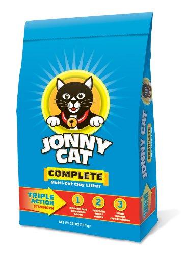 JONNY CAT Complete Multi-Cat Clay Litter Bag, 20-Pound