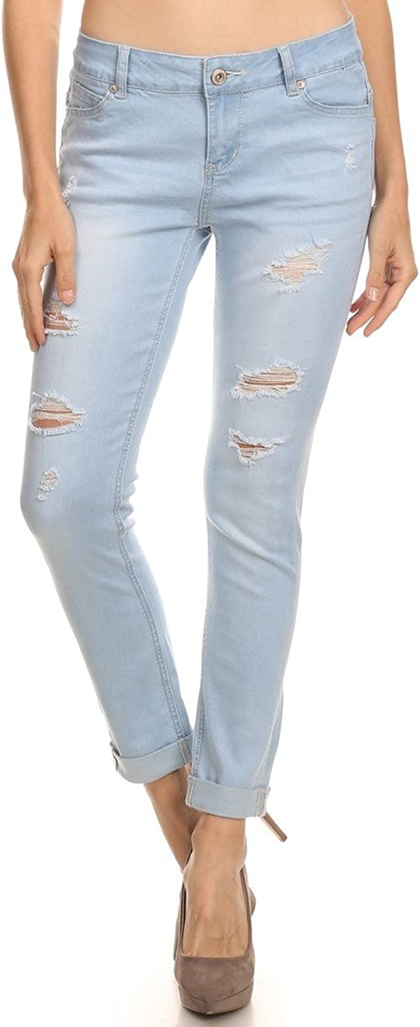 2ND DATE Women's Skinny Push Up Butt Lift Denim Jeans  Various Styles