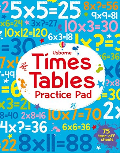 Times Tables Practice Pad: 1 (Tear-Off Pads)