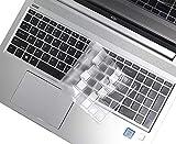 Superdünne durchsichtige Tastaturabdeckung für HP ProBook 450 G5 455 G6 15,6 Zoll Probook 650 G4 470 17,3 Tastaturschutz (US-Layout) )