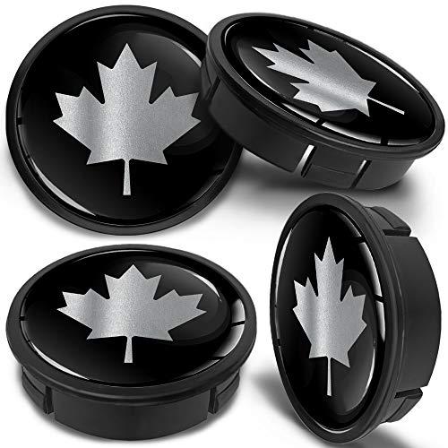 SkinoEu 4 x 60mm ABS Car Alloy Wheel Centre Rims Hub Center Caps Auto Tuning Logo Emblem Silver Gray CXS 0