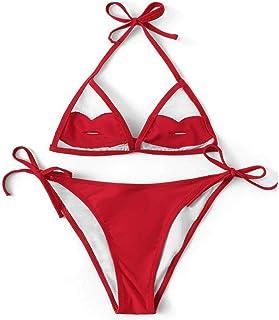 363a7652a676 Amazon.es: Labios Rojos - Conjuntos / Bikinis: Ropa