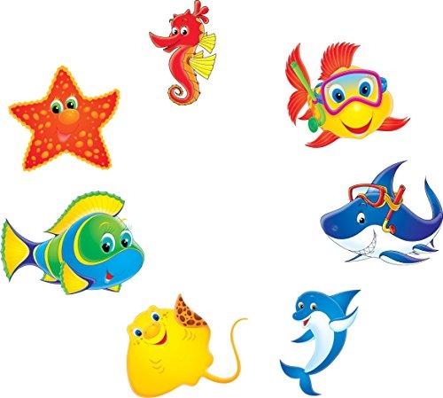 pool-design.eu Aufkleber Pool * Sticker Swimmingpool * Poolaufkleber Unterwasser * Deko Set Kiddi (30)