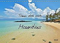Traeum dich nach Mauritius (Wandkalender 2022 DIN A4 quer): Traumstraende und Naturschaetze (Monatskalender, 14 Seiten )