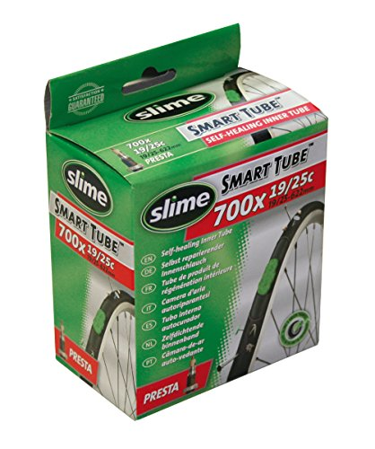 Slime STB-970019/10 Self-Sealing Smart Tube, Presta Valve (700 x 19-25mm)