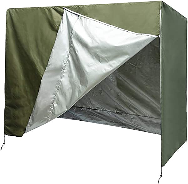Patio Swing Cover Porch Swing Cover Swing Canopy Replacement Cover 3 Seater Hammock Glider Cover Patio Furniture Cover Heavy Duty Weather Resistant Big Size87 Lx49 Wx67 H Army Green