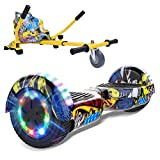 "MARKBOARD Patinete Eléctrico 6.5"" con Hoverkart Hoverboard Scooter Auto-..."