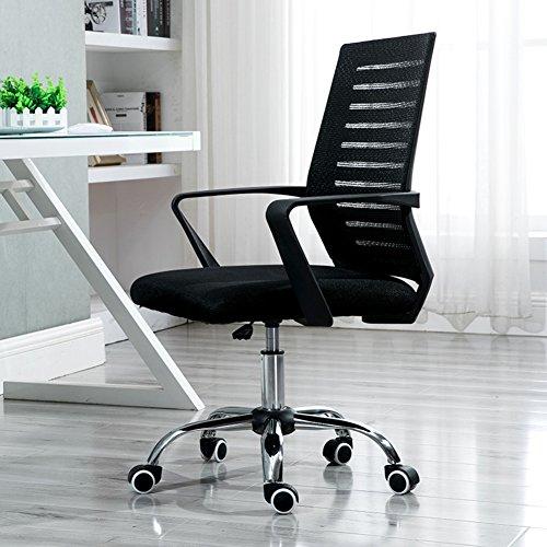 PC CHAIRS Schreibtischstuhl Hoch zurück Bürostuhl schreibtischstuhl Netzrücken Ergonomischer chefsessel Mit armlehne Drehstuhl Lift-Funktion-G 90x63x50cm(35x25x20)