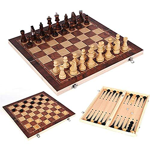 Queta -   3 in 1 Schachspiel