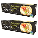 Carr's Original Table Water Crackers, 4-1/4 Ounce (Pack of 2)
