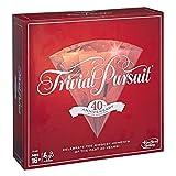 Trivial Pursuit E1923102 40th Anniversary Ruby Edition, multicolor, Versión Inglesa