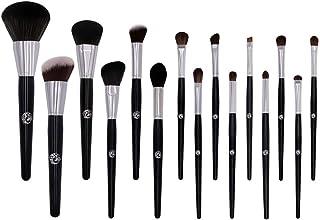 ENERGY 15Pcs Makeup Brush Set Professional Premium Face Makeup Brushes for Powder Liquid Foundation Blending Blushing Conc...