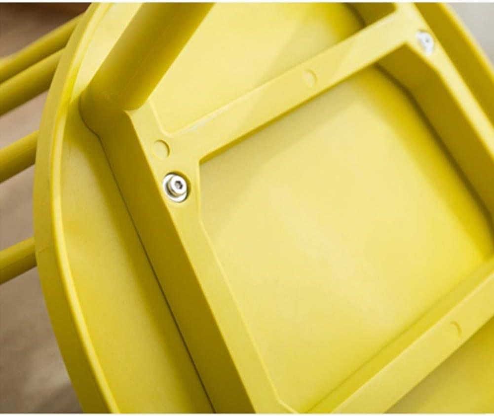 Dossier Chaise de salle à manger Chaise de réception Ménage Paresseux Loisir restaurant familial Café PP Plastique (Color : D) C