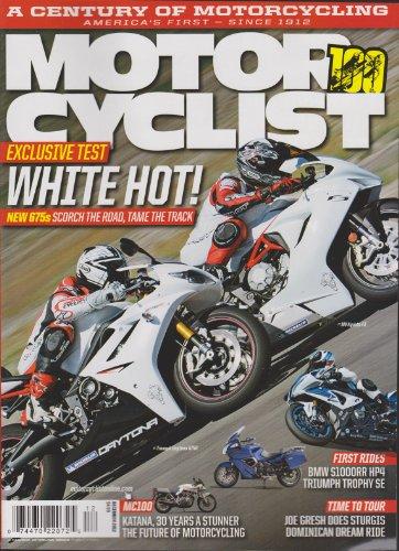 Motorcyclist Magazine December 2012