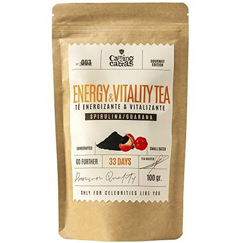 Te Energizante, Vigorizante & Recovery   Vitaminas para el cansancio   Potencia la Energia y Vitalidad   Refuerza tus defensas   Te Verde, Matcha, Mate, Espirulina, Guarana   Antioxidante Natural 100g