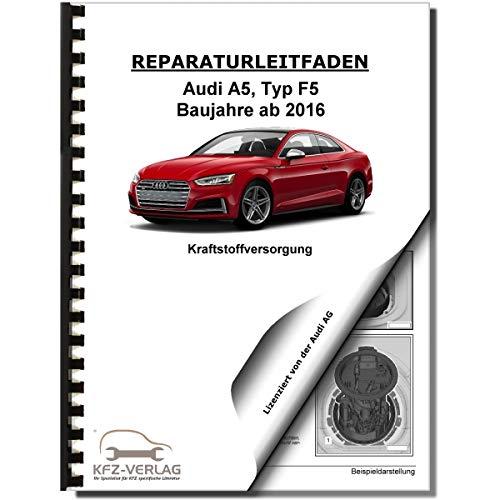 Audi A5 Typ F5 ab 2016 Kraftstoffversorgung Aufbereitung Reparaturanleitung