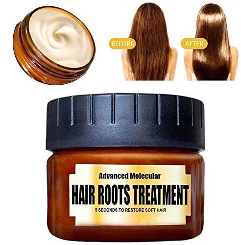 Hair Repair Mask Haarpflege Spülung Conditioner Haarkur Advanced Molecular Hair Roots Treatment Recovery Elasticity Hair Detoxifying Smoothing Mask Haar Glättung Spülung Haarspülung Conditioner