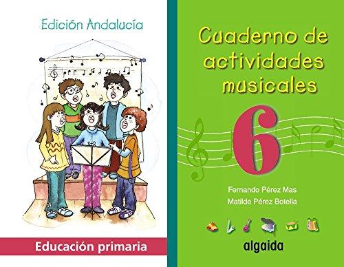 Cuaderno de actividades musicales 6-9788484334446