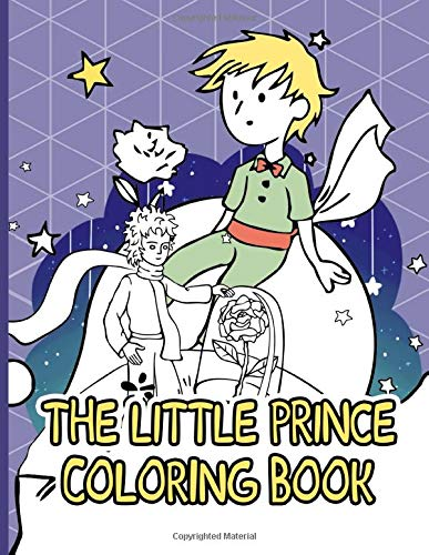 The Little Prince Coloring Book: The Little Prince Nice Coloring Books For Adult