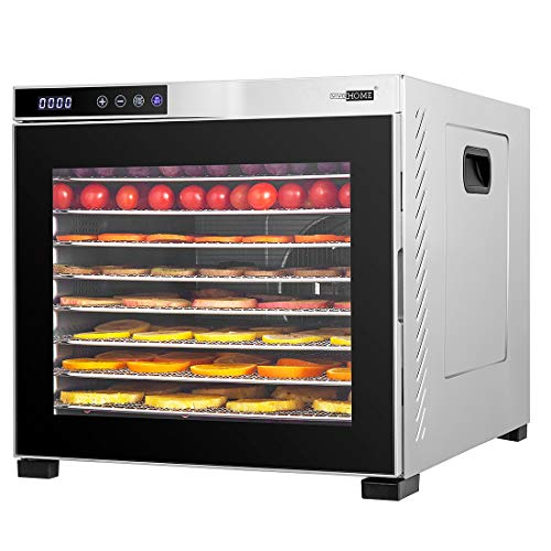 Big Save! VIVOHOME Stainless Steel Electric 1000W 10 Trays Commercial Food Dehydrator Machine with D...