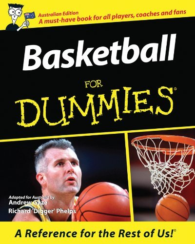 Basketball For Dummies by Andrew Gaze (2011-09-19)