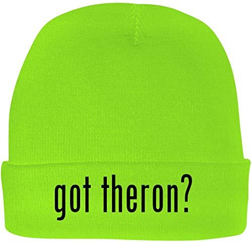 Shirt Me Up got Theron? - A Nice Beanie Cap, Neon Green, OSFA