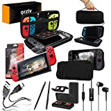 Orzly Switch Accessories Bundle Essentials Pack for