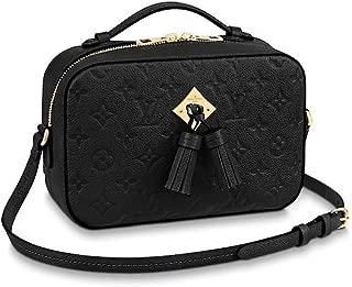 Louis Vuitton Monogram Empreinte Leather Saintonge Noir M44593