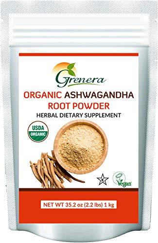 Grenera Organic Ashwagandha Powder …